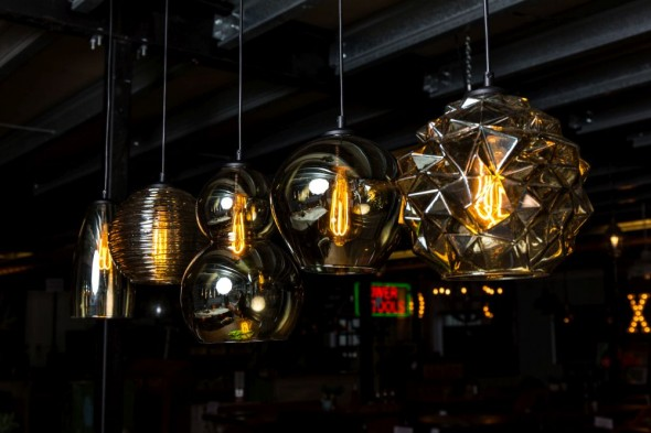 Quinto Smoked Glass Pendant Light Range