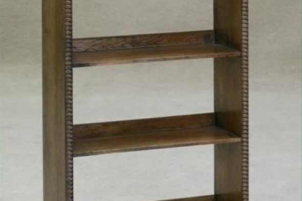 Solid Oak Bookcase Stand