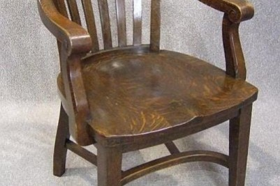 Edwardian office chair