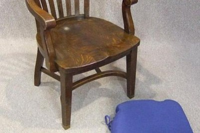 Antique Edwardian office chair