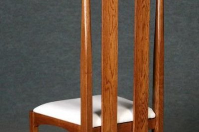 solid oak argyle dining occasional chair