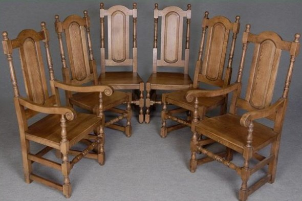 Panel Back Dining Chair Range