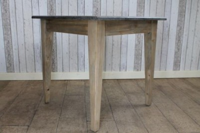 pine and stone tables