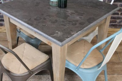 stone top cafe tables