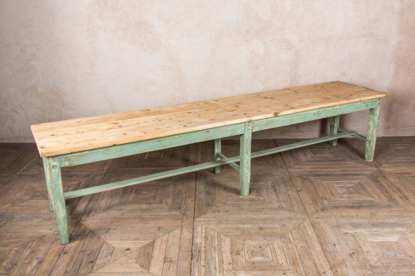 Long Industrial Dining Table