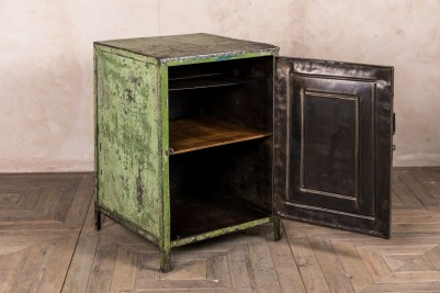industrial green cabinet