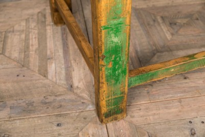 industrial green display table