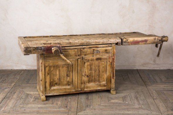 Vintage Carpenters Workbench
