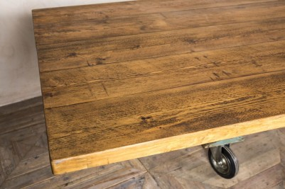 trolley wheel table