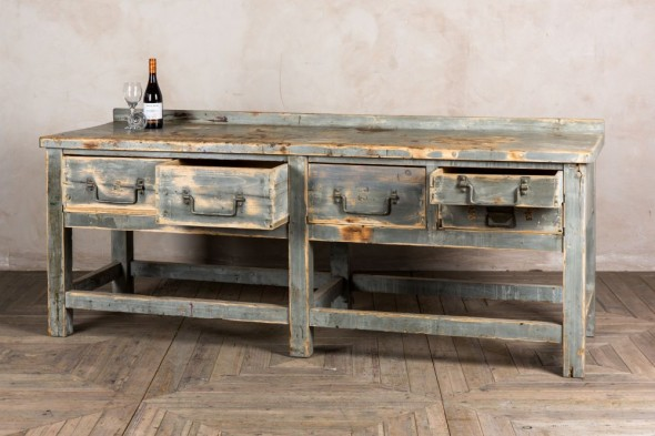 Grey Wood Sideboard