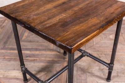 small pipework dining table