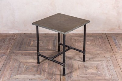 zinc top cafe table