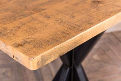 large pine top bar table