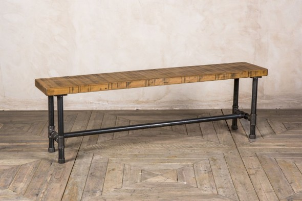 Bespoke Steel Pipe Bench