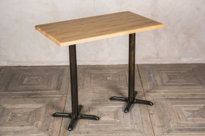 large pub height table