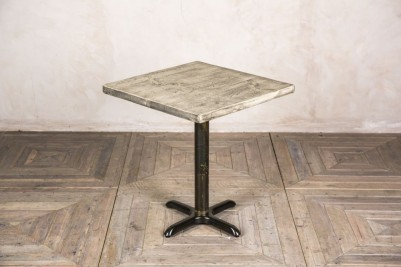 oiled pedestal table