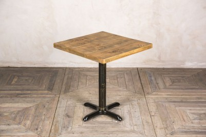 pine top pedestal table