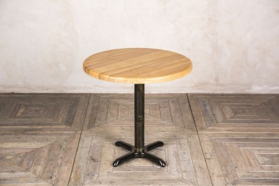 round ash pedestal table