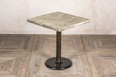 oiled square pedestal table