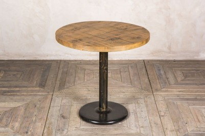 round pine pedestal table