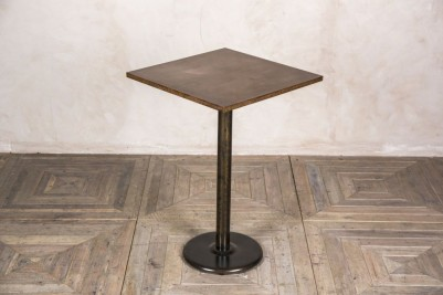 copper top bistro poseur table