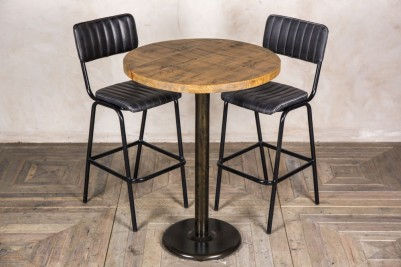 tall round bar table