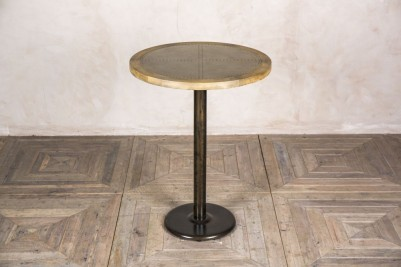 zinc bistro poseur table