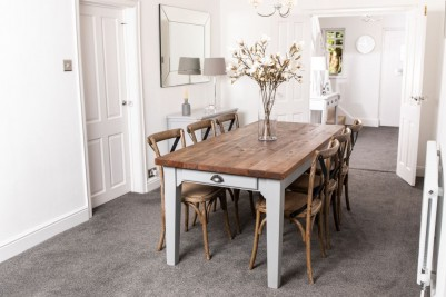 large country farmhouse table