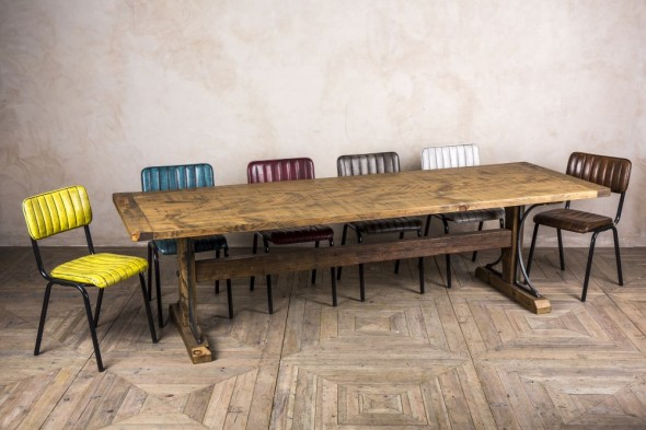 Ironbridge Bespoke Pine Trestle Table