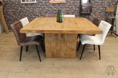 Amazing 1 5M Elm Square Sharing Table Interior Design Ideas Gresisoteloinfo