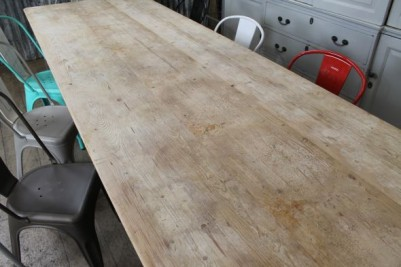 large pine reproduction table