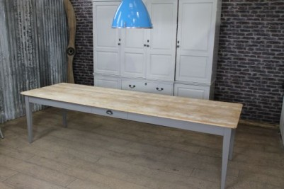 pine long table
