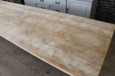 reproduction long pine table