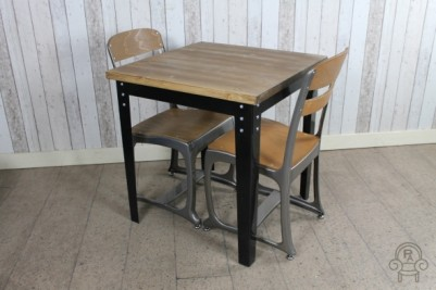 industrial style bar cafe table