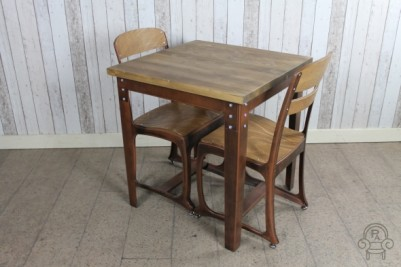 1950s style cafe tables