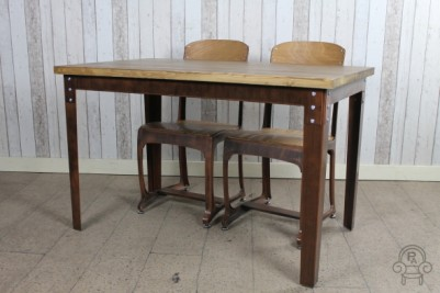 vintage industrial style tables