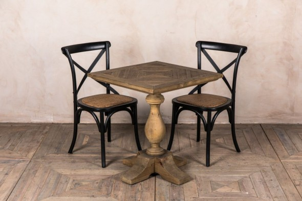 Pedestal Base Cafe Table -70x70cm
