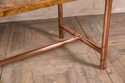 copper base table