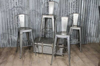 gunmetal stool