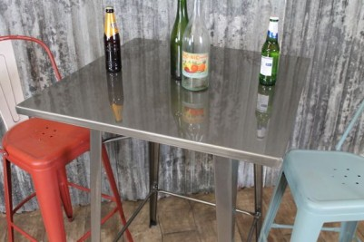 80x80cm Tolix High Bar Table