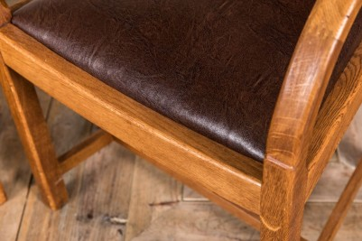 brown wooden dining chair