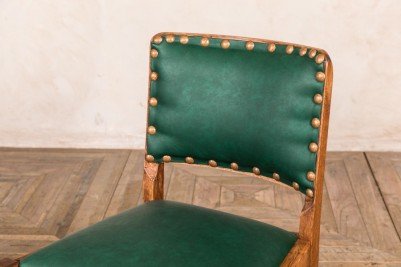 green pub dining chair