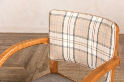 tartan restaurant dining chair