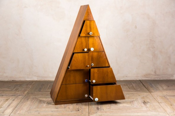 Large Triangle Chest of Drawers