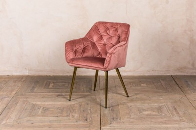 rose pink chair