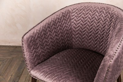 patterned tub chair