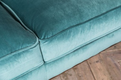 duck egg button back sofa