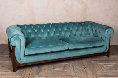 duck egg Chesterfield sofa