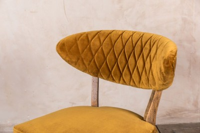 mustard dining chairs
