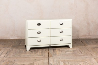 ivory enamel chest of drawers